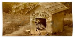 Brutis Beach Towel