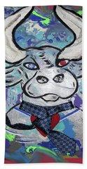 Bullish - A Bull With A Heart - Untie Me Beach Sheet