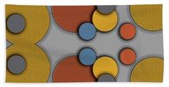 Colorful Circles Beach Sheet