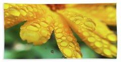 Calendula Officinalis Beach Sheet