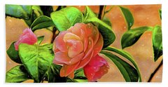 Camellia Candy Beach Sheet