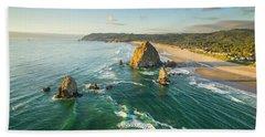 Cannon Beach Beach Towel