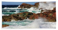 Cape Bonavista, Newfoundland Beach Towel