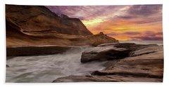 Cape Kiwanda Sunset Beach Towel