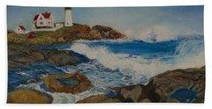 Cape Neddick Beach Towel
