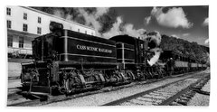 Cass Scenic Railroad Beach Towel