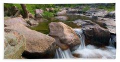 Castor River Shut-ins Beach Towel by Steve Stuller