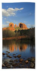 Cathedral Rock Beach Towel by Dan Wells