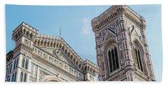 Cattedrale Di Santa Maria Del Fiore Is The Main Church Of Floren Beach Sheet
