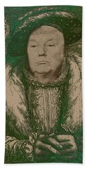 Celebrity Etchings - Donald Trump Beach Towel