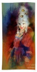 Beach Towel featuring the digital art Che Bellezza by Jack Torcello