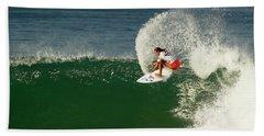 Chelsea Roett Surfer Girl Beach Sheet