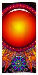 Beach Towel featuring the digital art Children Of The Sun by Robert Orinski