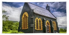Beach Towel featuring the photograph Church by Charuhas Images