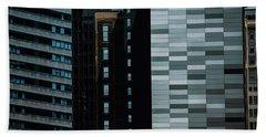 City Perspective Beach Towel