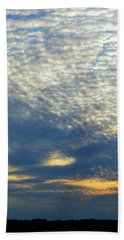 Beach Sheet featuring the photograph Clouds Above  by Lyle Crump