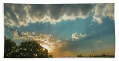 Colorado Sunset Beach Towel