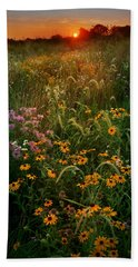 Colors Of Summer Beach Towel by Rob Blair