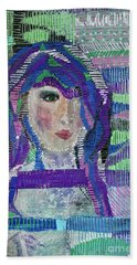 Complicated Woman Beach Towel