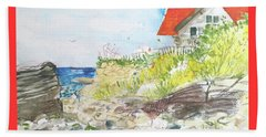 Cornfield Point Old Saybrook Beach Towel