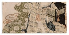 Courtesan Asleep Beach Sheet