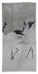 Courtship Dance Beach Towel