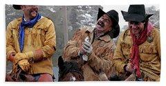 Cowboy Humor Beach Sheet
