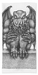 Cthulhu Idol Beach Towel