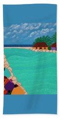 Curacao Lagoon Beach Towel