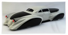 Custom  Lead Sled Beach Sheet by Louis Ferreira