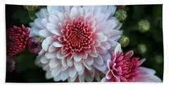 Dahlia Burst Beach Sheet