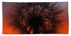Dandelion Beach Towel