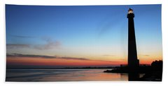 Dawn At Barnegat Light Beach Sheet