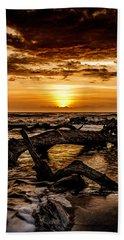Dawn's First Light Beach Sheet