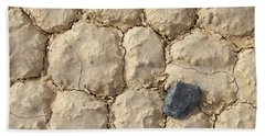 Death Valley Mud Beach Towel