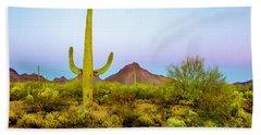 Desert Beauty Beach Sheet