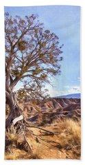 Desert Tree Beach Sheet