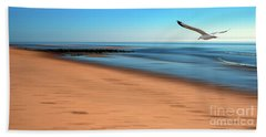 Desire Light  Beach Sheet by Hannes Cmarits