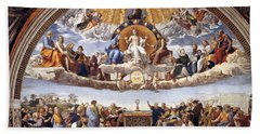 Disputation Of The Eucharist Beach Towel