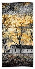 Beach Towel featuring the photograph Distant Memories by Jan Amiss Photography