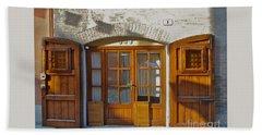 Door In Brisighella, Italy Beach Towel