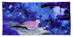 Dove  #9225_2 Beach Towel