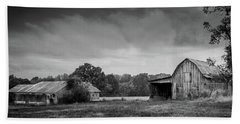 Farm Country - Rural Landscape Beach Sheet by Barry Jones