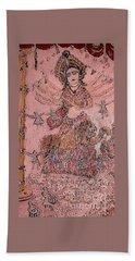 Durga ,the Warrior Goddess Beach Sheet