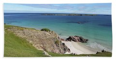 Beach Towel featuring the photograph Durness - Scotland by Pat Speirs