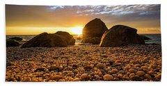 East Marion Sunset Beach Towel