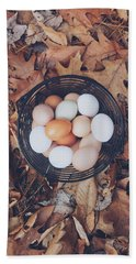 Eggs Beach Towel