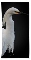 Egret Beach Towel