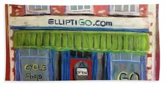 Elliptigo Brick And Mortar Beach Towel