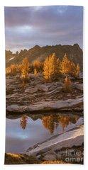 Enchantments Golden Fall Colors Beach Towel